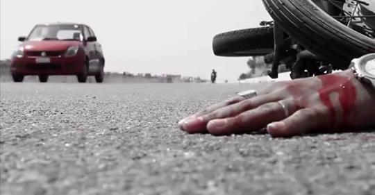 Motorcyclist dies in Tangmarg road accident