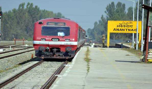 Covid-19: Railway services likely to be suspened today in Kashmir