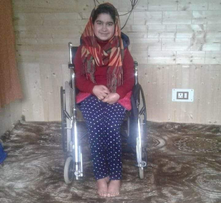 Class 10 Results: Wheel chair bound deaf and dumb girl from Anantnag secures over 90 percent marks