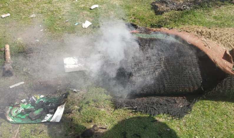 Miscreants set ablaze cricket mats  in Delina Baramulla