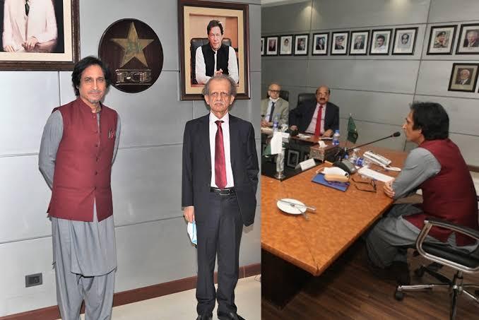 Former Pakistan skipper Ramiz Raja formally elected as Pakistan Cricket Board chairman