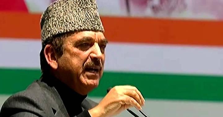 PM Modi is responsible for growing Militancy in JK: Azad