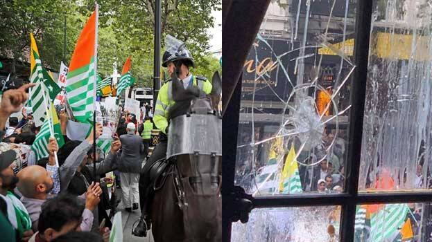 Ban imposed on British Kashmiri's protest before Indian High Commission in London