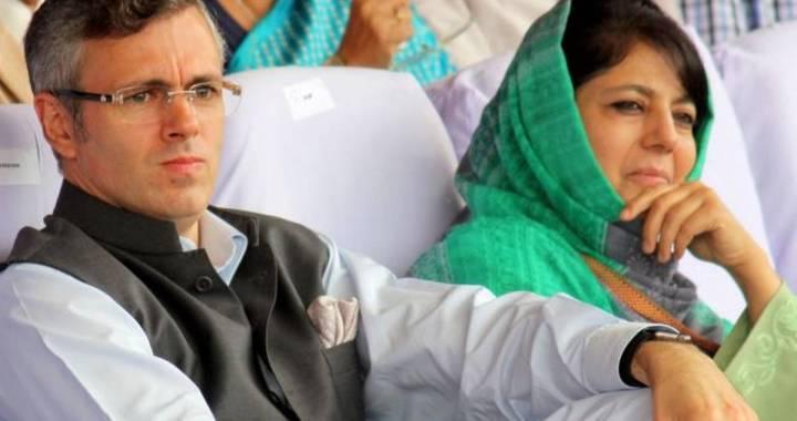 Srinagar; Omar, Mehbooba booked under PSA