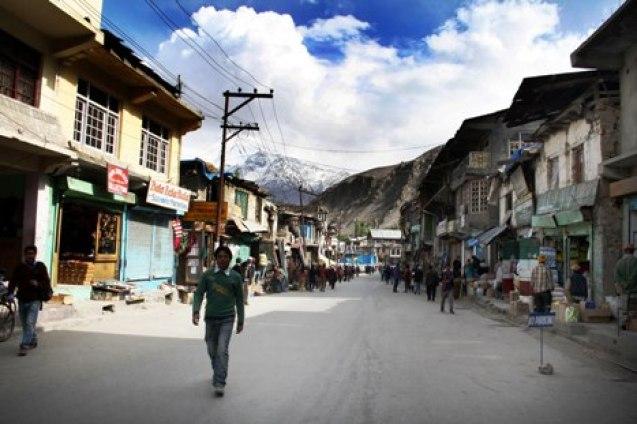 Main market Kargil - Photo by: Bilal Bahadur