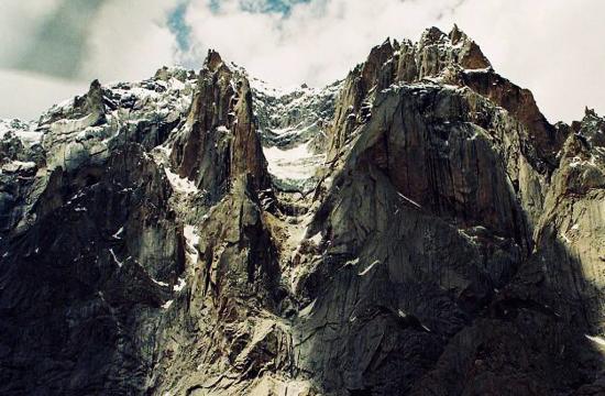 A view of Siachen Glacier