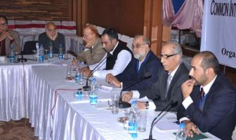 Participants at the cross-LoC civil society dialogue organized by Centre for Dialogue and Reconcillation