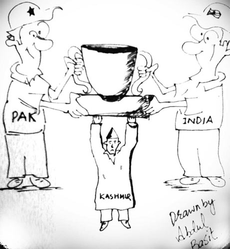 Indo-Pak T20 -- Drawn By: Abdul Basit