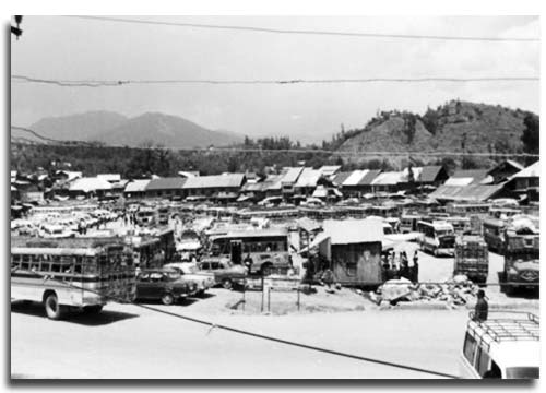 The bus stand in Kupwara where this gruesome incident took place