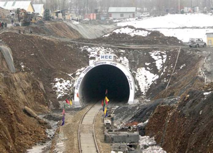 South Asia's second largest tunnel. Pic: Bilal Bahadur