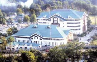 J&K Bank Corporate Headquarters Srinagar. KL Image by Bilal Bahadur