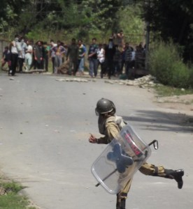 Clashes in Kulgam