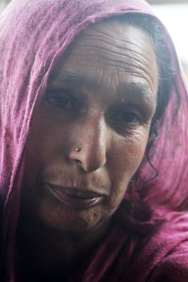 Gul Jan, another victim of the conflict lost her husband Peer Khan some 20 years ago. Peer Khan was killed by the army in 1990s. Peer Khan left behind five children including three girls and two boys. Khan was the only bread winner in the family.