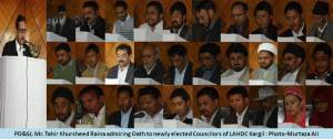 Newly Elected Councilor's of LAHDC Kargil, Photo By: Murtaza Ali