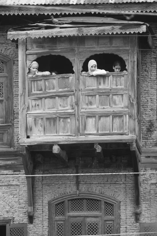 Shy Sights: And when streets were at loggerheads; peeping wasn't that seldom. Sights turned scary, movement became muzzled and then, life adorned a withered look. And that dub, that meditating window suddenly turned sullen. It is still sullen, as sight outside turned into sombre.