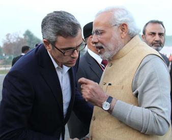 Omar-Abdullah-&-Narendra-Modi