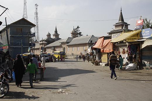 A view of Shopian town