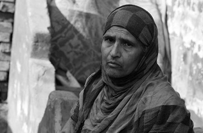 Gulshan, mother of Musab Dar. Pics: Durdana Bhat