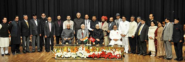The cabinet of late Mufti Mohammad Sayeed