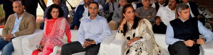 Omar Abdullah and his sister graced the occasion.