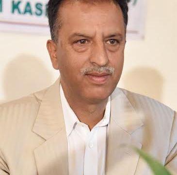 KCC&I new president: Mushtaq Ahmad Wani