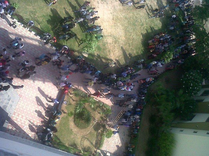 Protest in Punjab
