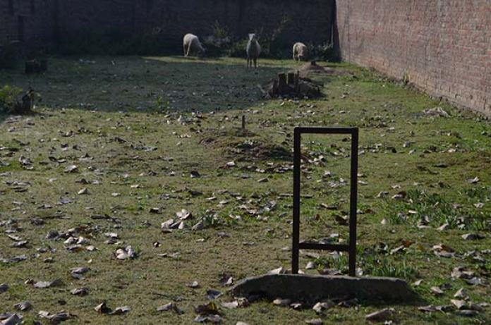 Par grave yard of Barzulla, where four Gogo martyrs are burried.