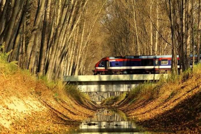 Train in Kashmir