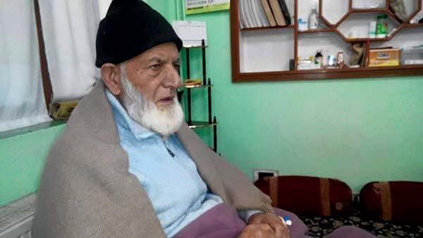 Ailing Syed Ali Geelani