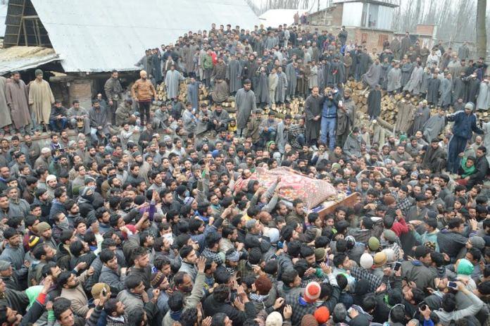 LeT Militant Funeral 6