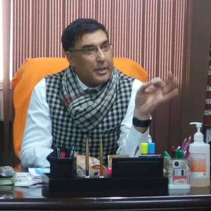 GB Panth Hospital Medical Superintendent, Dr Shafqat Khan
