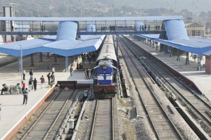 Jammu-Katra Train.