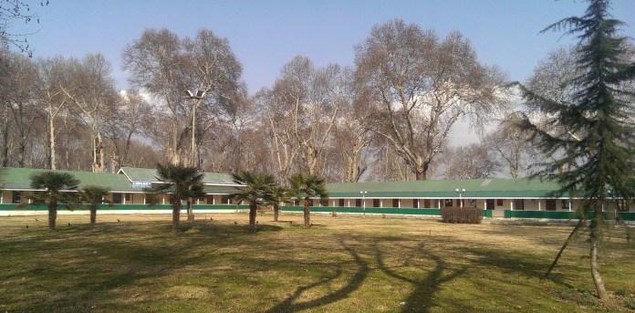 The premises of Institute of Kashmir Studies (IKS), University of Kashmir.