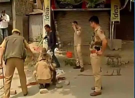 Attack on Police in Zadibal