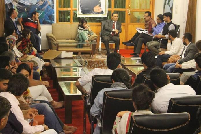 CM-Entrepreneur Meet on May 16, 2016 @ Gupkar