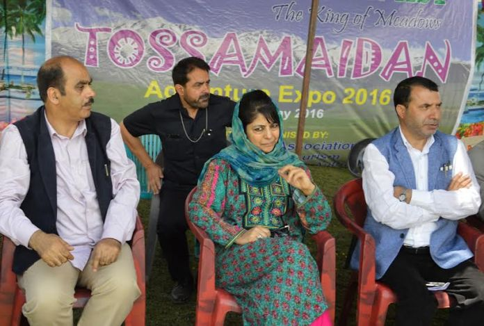 CM at Tosmaidan where she inaugurated a three-day festival on May 29, 2016