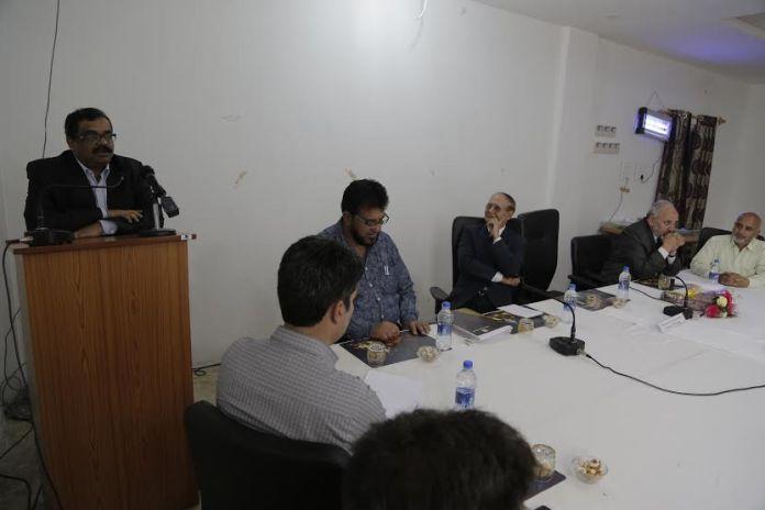 Director IIT Kharagpur @ CUK on May 09, 2016
