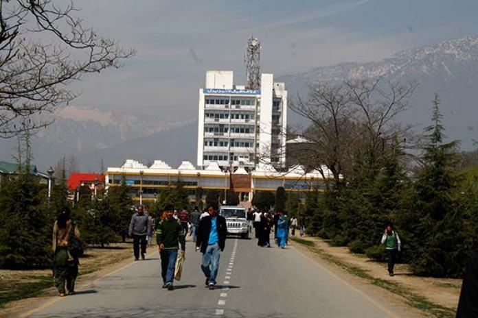 University of Kashmir (KL Image: Bilal Bahadur)