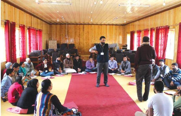 KU Astronomy workshop at Girls Hr Sec School on May 07, 2016