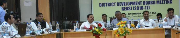 Reasi DDB Meet on May 20, 2016