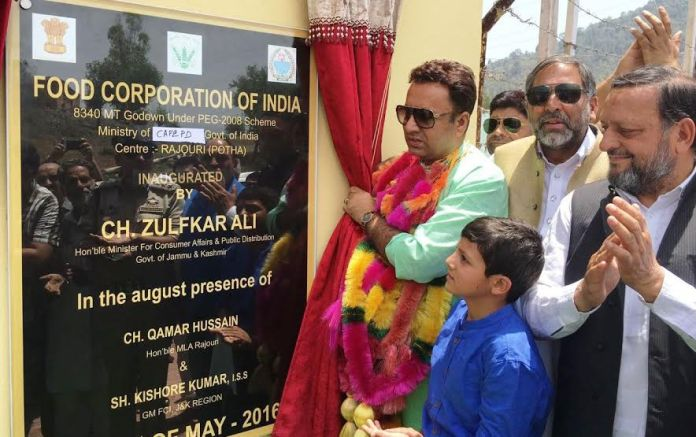 Zulfikar Choudhary in Rajouri on May 29, 2016