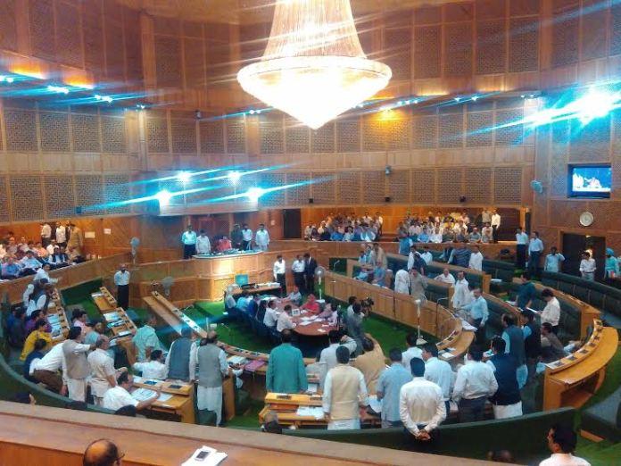 A KL file Image of J&K Legislative Assembly.