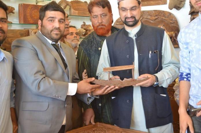 Paradise Wood House at Lethpora inagurated by Mirwaiz Umar Farooq on June Ist 2016