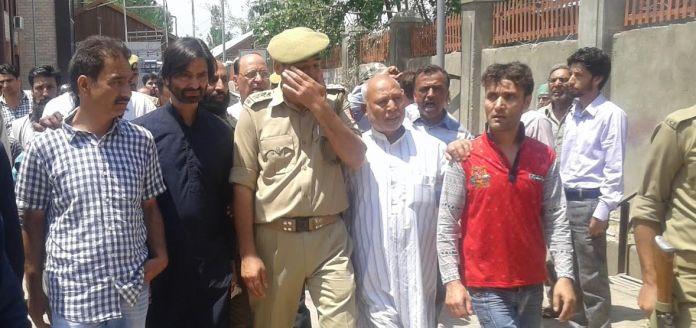 Yasin Malik in TADA Court on June 4, 2016