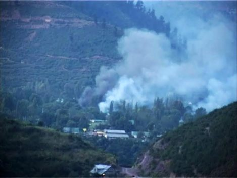 One of screen grabs of Uri attack.