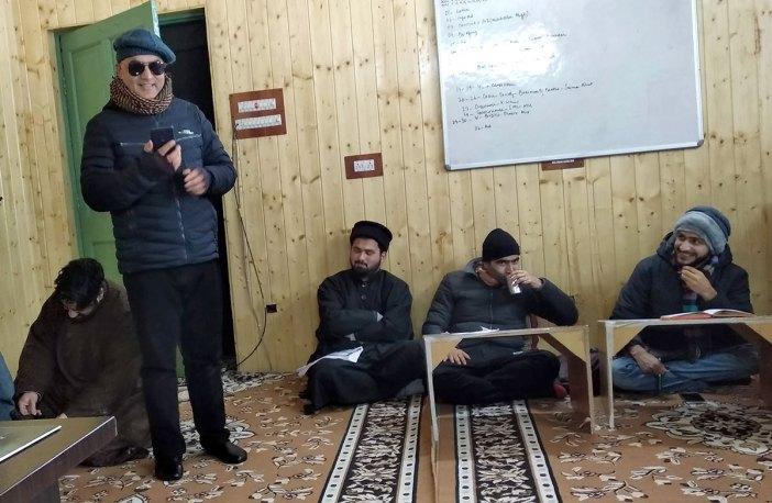 A view of Kashmir Life newsroom.