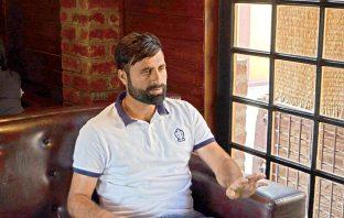 Parvez Rasool (KL Image by Bilal Bahadur)
