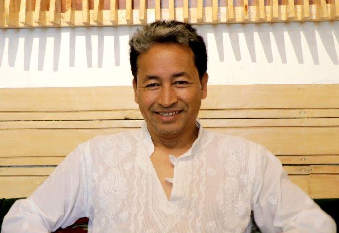 Sonam Wangchuk (KL Image by Shuaib Wani) Kashmir Life Image by Shuaib Wani