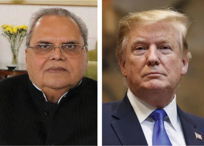 Satyapal Malik Donald Trump