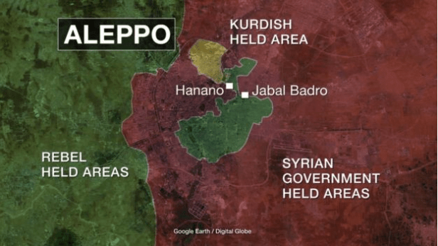 Syria war: Thousands uprooted from rebel-held east Aleppo